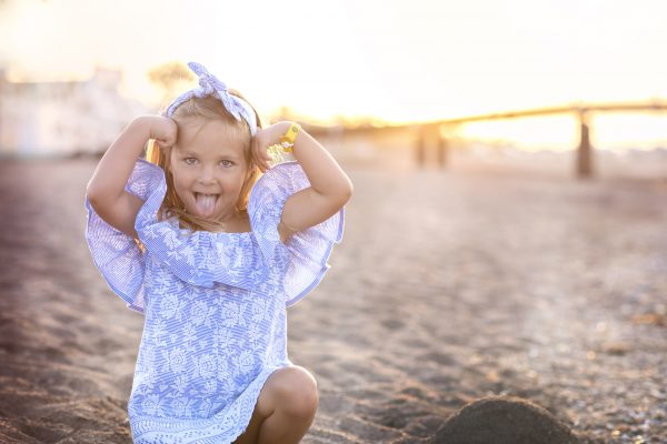 Madeirové šaty LittleDi